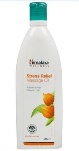 Массажное масло Стресс Релиф, Хималая (Stress Relief Massage Oil, Himalaya) 200мл - 1