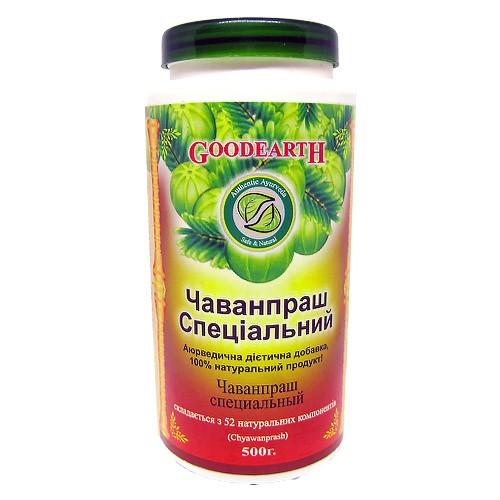 Чаванпраш Специальный, Гудкер (Chyawanprash, Goodcare Pharma) 500 гр - 1