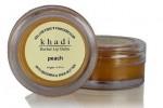 Бальзам для губ Кхади Персик, 10 гр.
