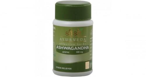 Ашвагандха, Шри Шри Аюрведа (Ashwagandha, Sri Sri Ayurveda) 60 таб - 1