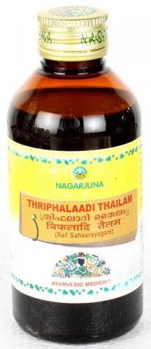 Трифалади Tайлам, Нагарджуна (Thriphalaadi Thailam, Nagarjuna) 200 мл - 1