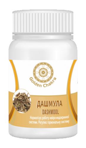 Дашамула экстракт, Голден Чакра (Dashmula tablet, Golden chakra) 60 таб - 1