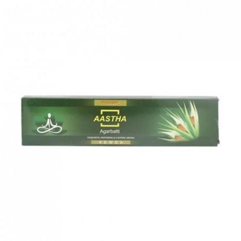 Благовония с ароматом Пуджа Патанджали (Aastha Agarbatti, Patanjali) 20гр - 1