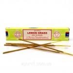 Благовония Лемонграсс, Сатья (LEMON GRASS, Satya) 15 гр