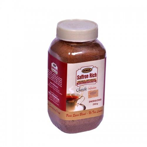 "Аюрведический чай ""Гокул"" с шафраном (Чайная масала Saffron Rich herbal infusion), 250 гр. - 1"