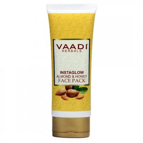 Маска для лица Мед и Миндаль, Ваади (Instaglow Almond and Honey Fase Pack, Vaadi) 120 мл - 1