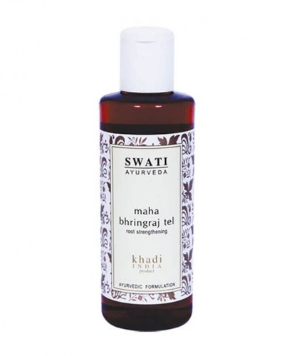 Махабрингарадж масло (Mahabhringraj tail, Swati) 210 мл - 1