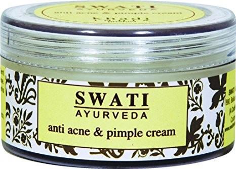 Крем Кхади против акне и прыщей (Herbal Acne Pimple Cream, Khadi), 50 гр - 1