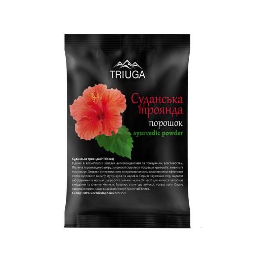 Суданская роза порошок, Триюга (Hibiscus powder, Triuga) 50 грамм - 1