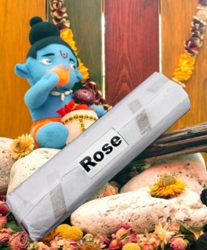 Благовония Rose 250 грамм упаковка (Вриндаван) - 1