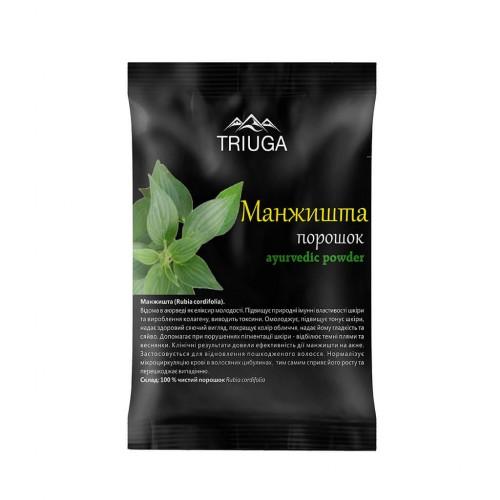 Манжишта чурна, Триюга (Rubia cardifolia powder, Triuga) 50 грамм - 1